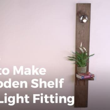 Diy Video Tutorial: Light Your Pallet Shelving Projects!