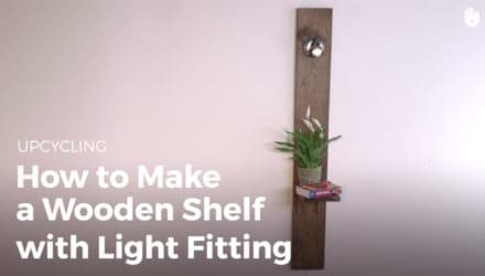 Light Your Pallet Shelving Projects!