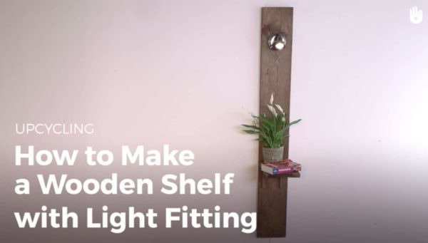 Light Your Pallet Shelving Projects! Pallet Lamps & Lights Pallet Shelves & Pallet Coat Hangers