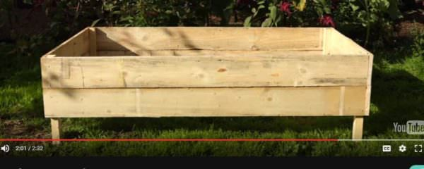 Diy Video Tutorial: Make Pallet Wood Planter Boxes Pallet Planters & Compost BinsPallet Tutorials