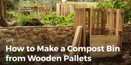 Diy Video Tutorial: Make Your Own Pallet Compost Bins