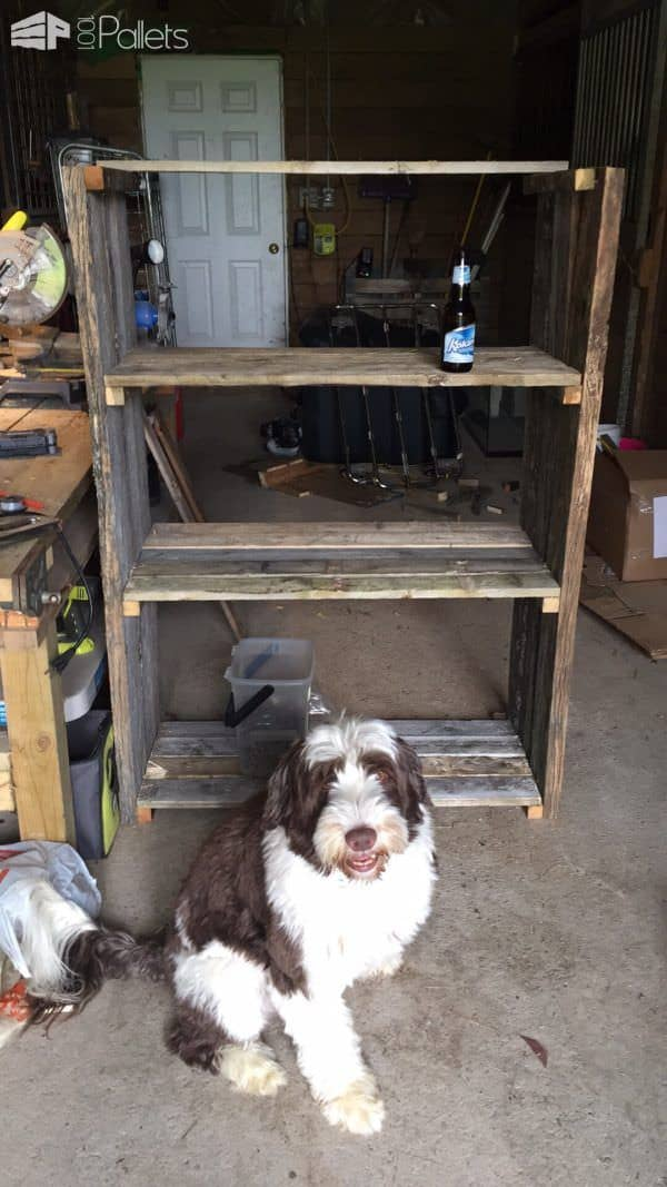 Easy Diy Pallet Barn Shelves Pallet Shelves & Pallet Coat Hangers