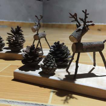Upcycled Nature Scenes: Fun Pallet Desk Decorations