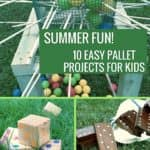 10 Kid-friendly Pallet Projects For Summer Fun!