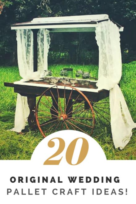 20 Wedding Pallet Craft Ideas!