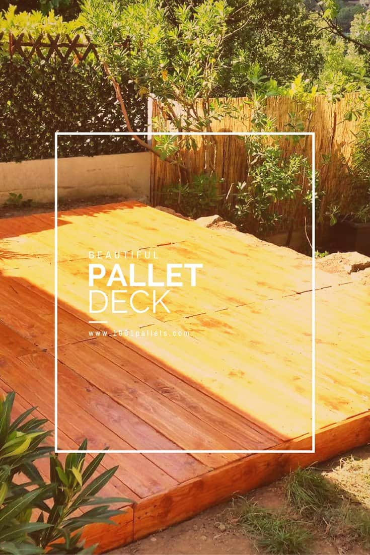 Pallet Decks, Pallet Terraces & Patios • 1001 Pallets