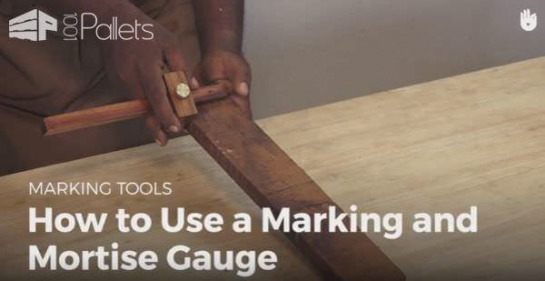 Mortise Marking Gauges are an old tool that has been in use for thousands of years. Now learn to use one yourself to create strong joints that don't require any glue or fasteners.