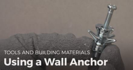 Diy Video Tutorial: Using Wall Anchors!