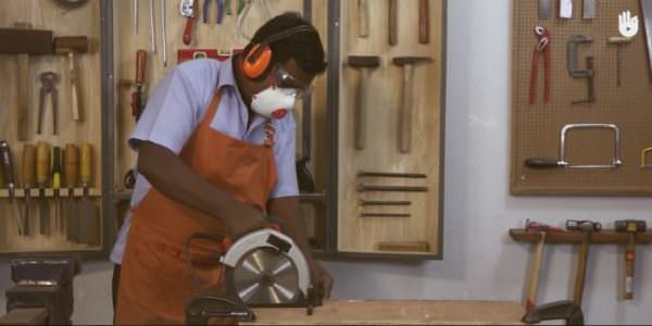 Woodworking Techniques - safety is one part of the video series.