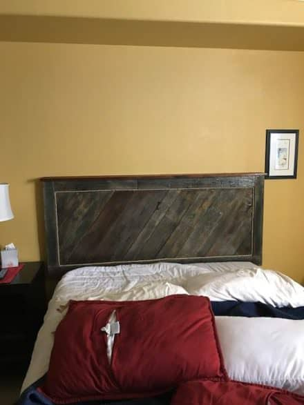 Interior Door Pallet Head Board