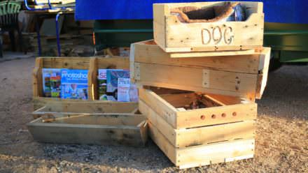 Multi-purpose Pallet Crates/Racks/Planters/Beds