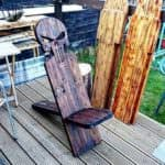 Pallet Viking Chairs For The Manliest Man Caves