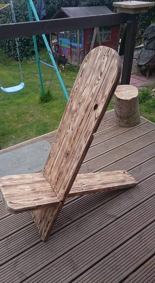 Pallet Viking Chairs For The Manliest Man Caves Pallet Benches, Pallet Chairs & Stools