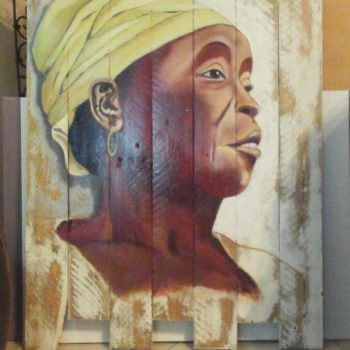 Pallet Wood Oil Paintings Are Stunning!