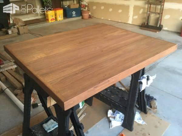 Repurposed Spalted White Oak Coffee Table Pallet Coffee Tables