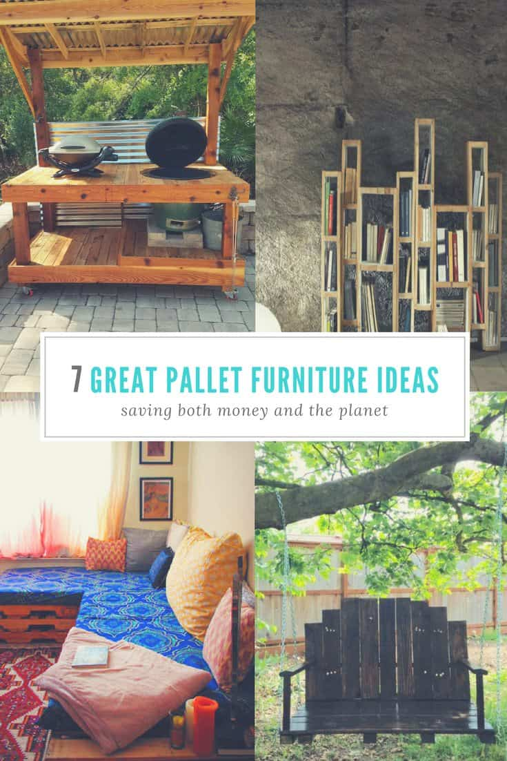 Do It Yourself Home Decorating Ideas: 7 Great Pallet Furniture Ideas • 1001 Pallets