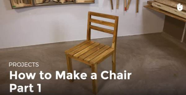 Chair Making The Easy Way