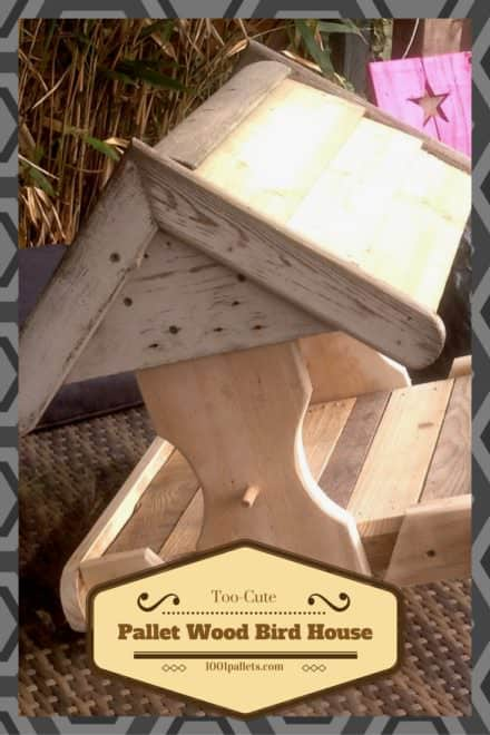 Cute Little Pallet Bird House