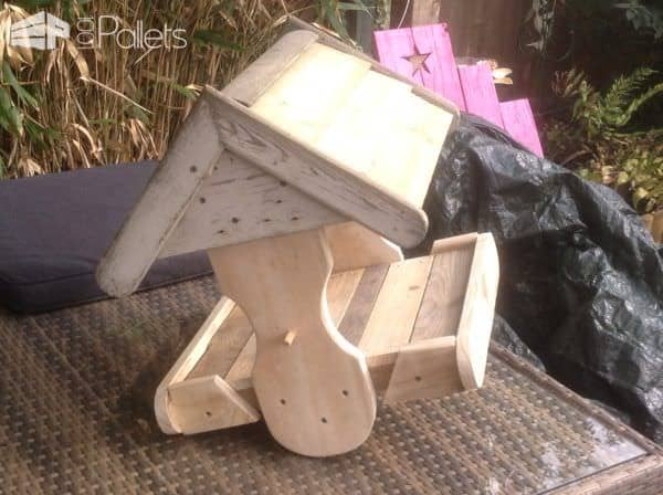 Cute Little Pallet Bird House Animal Pallet Houses & Pallet Supplies