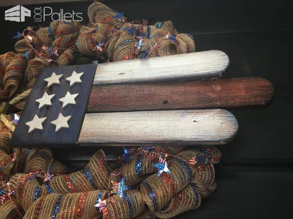 Diy Video Tutorial: American Pride Pallet Door Hanger DIY Pallet Video Tutorials Pallet Home Accessories