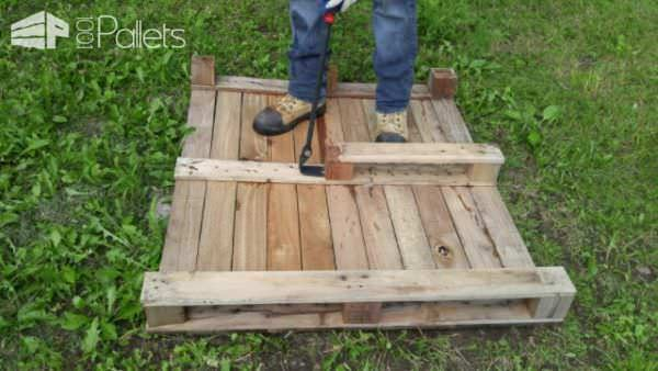 Dismantling Block-style Pallets Easily! DIY Pallet Video Tutorials Workshop and tools