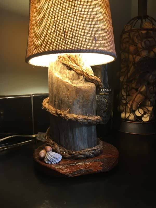 Diy Video Tutorial Nautical Themed Pallet Mini Lamp