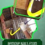 Removing Nails From Pallet Blocks