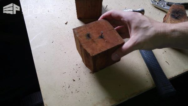 Removing Nails From Pallet Blocks DIY Pallet Video Tutorials Workshop and tools