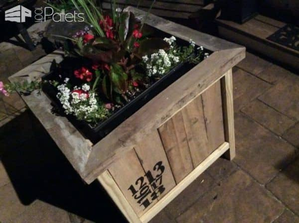 Zen Pallet Planter Box DIY Pallet Video Tutorials Pallet Planters & Compost Bins