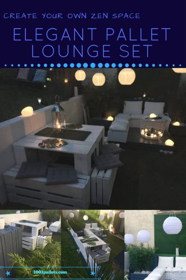 Elegant Garden Lounge Set