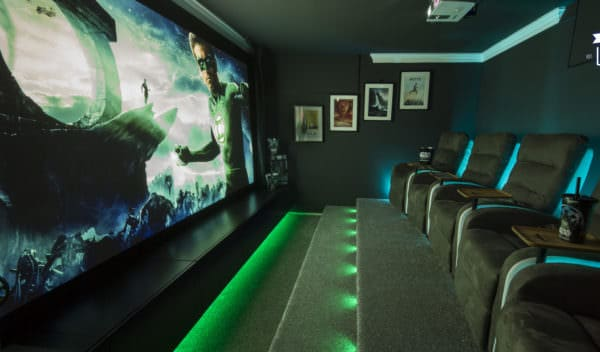 Pallet Projects June - the top pallet project of June 2017 is an outrageous pallet home theater that you can DIY!
