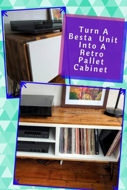Coolsville Retro Pallet Cabinet From Besta Unit