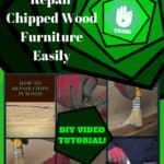 Diy Video Tutorial: Repairing Chipped Wood Furniture