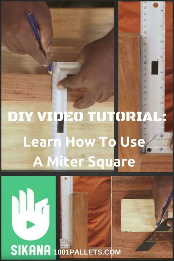 Using Miter Squares For Perfect Wood Joints