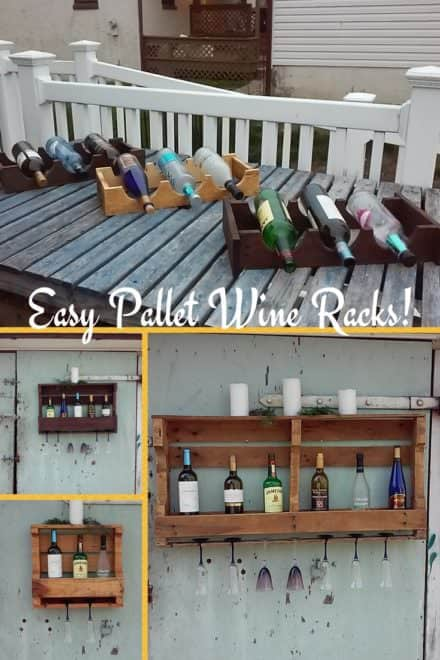 Half-pallet Wine Racks Are Super Easy!