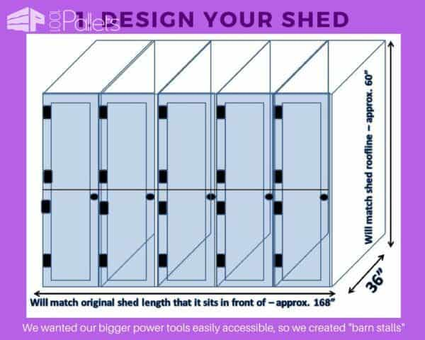 Design your Stall Tool Shed - and take your time!