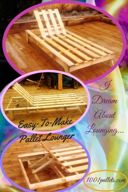 Quick-n-airy Pallet Sun Lounger For Serious Relaxin'!
