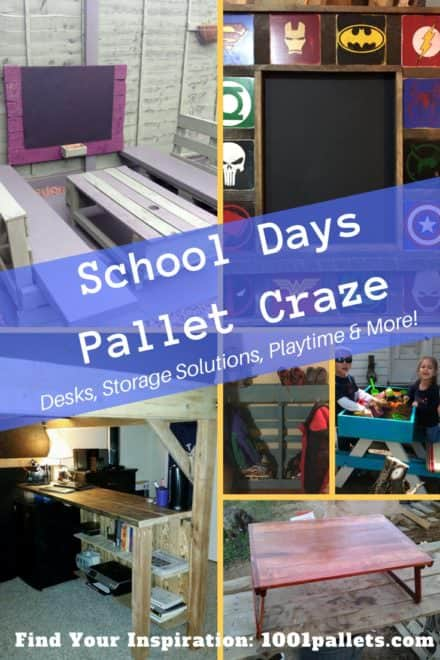 School Days Pallet Project Craze!