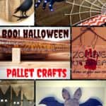 18 Scream Halloween Pallet Craft Projects 2017