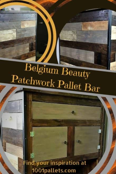 Belgium Beauty Patchwork Pallet Bar