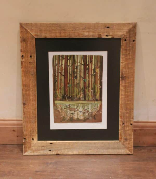 These Pallet Picture Frames Are Rustic And Beautiful This Frame Is Mitered At The Corners