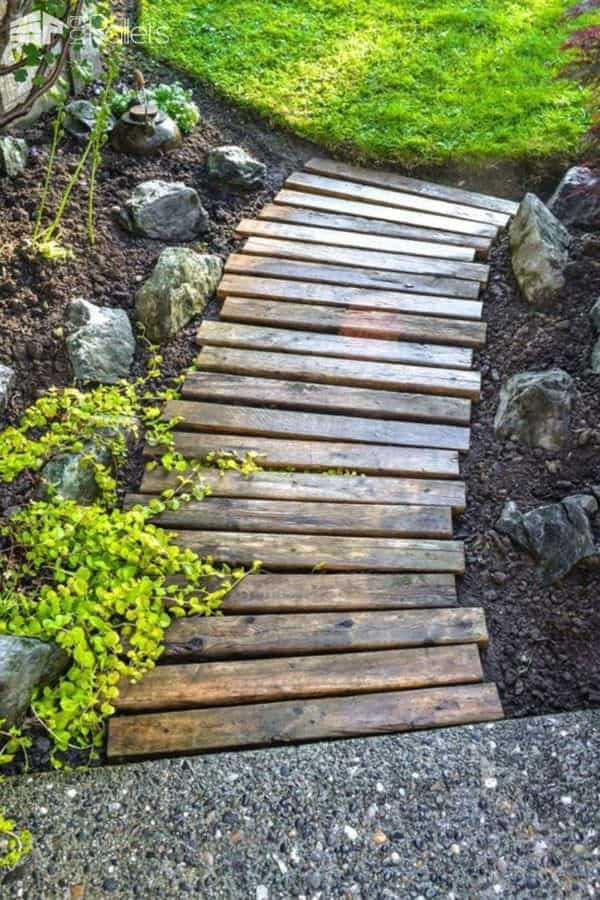 Top 34 Creative Pallet Garden Ideas For Springtime 1001 Pallets - Pallet-garden-ideas