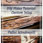 Diy Video Tutorial: Decorative Pallet Windowsill
