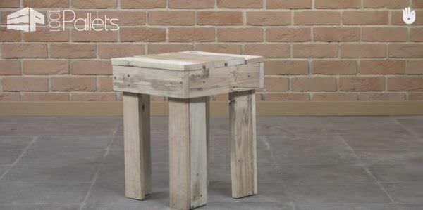 You CAN build this Fast Pallet Stool.