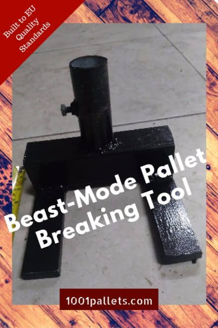 Low-cost Pallet Breaking Tool