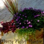 Petite Pallet Planter Is Perfect For Small Spaces