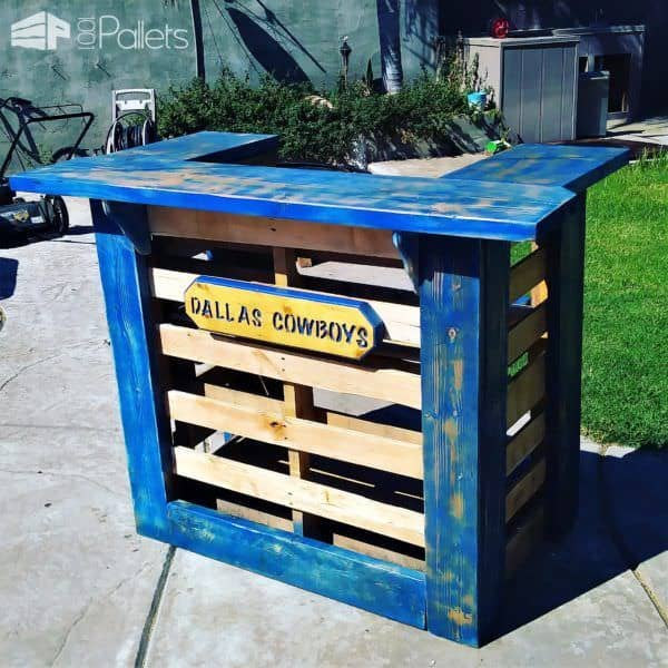 Rustic Pallet Bars Get Parties Started Pallet Bars