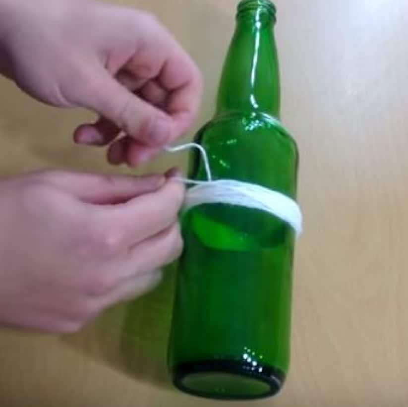 6 easy ways to cut drill holes in glass bottles 1001 for Simple way to cut glass bottles
