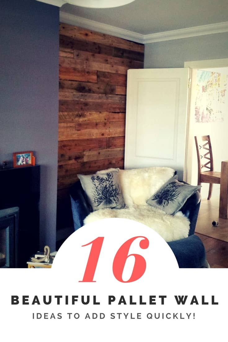 Add Style Quickly: 16 Beautiful Pallet Wall Ideas! • 1001 Pallets