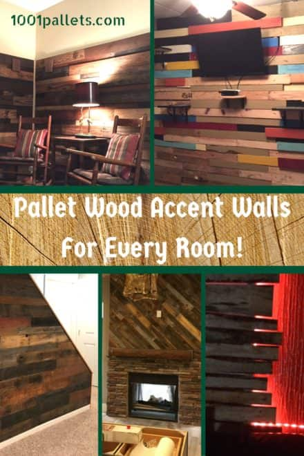 Add Style Quickly: 16 Beautiful Pallet Wood Wall Ideas!